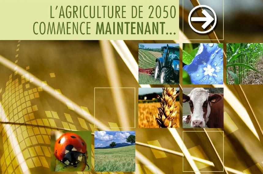 L'agriculture 2050 commence maintenant