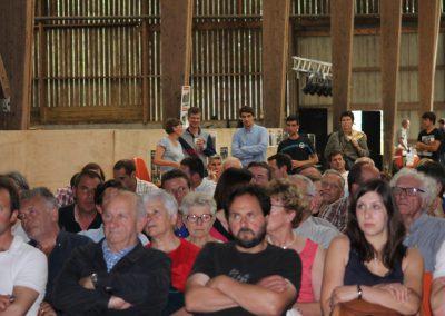 1ère nuit de l'agroécologie 2016 en Seine Maritime. Un public nombreux, familial et attentif aux exposés sur l'agriculture de conservation des sols