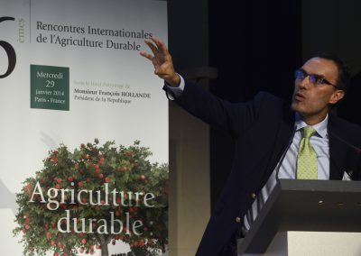 Pr Ricardo SANCHEZ, Directeur pour l'Amérique latine du Nature Conservancy Council, ancien vice-ministre de l'Agriculture de Colombie