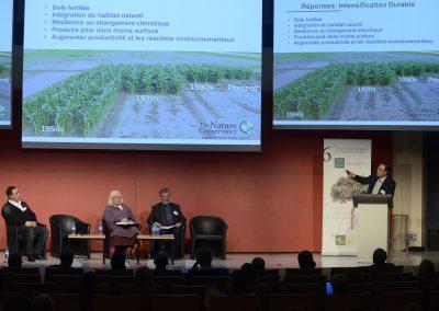 Table ronde : « L'Agriculture durable au service de la biodiversité »