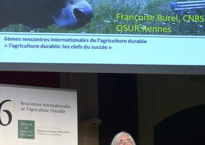 Françoise BUREL, CNRS, Directrice de recherche au Laboratoire Ecoystèmes, biodiversité, évolution (ECOBIO)
